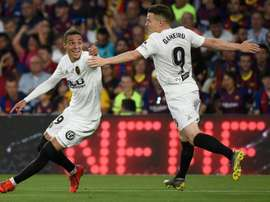 Valencia stun deflated Barcelona to win Copa del Rey. AFP