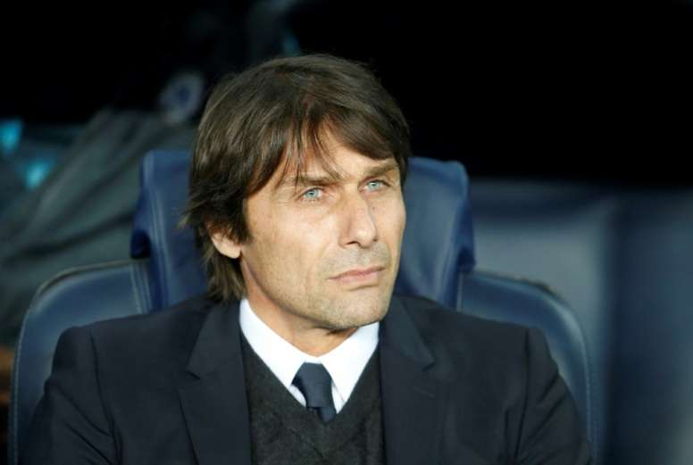 Conte has given his players a warning. AFP