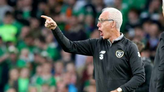 Mick McCarthy explained how he was feeling about the COVID-19 situation. AFP