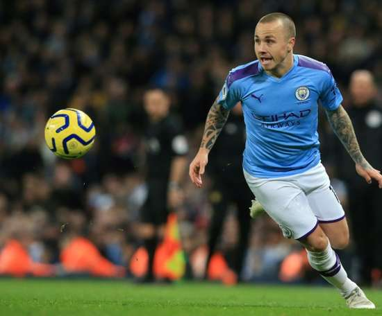 Angeliño will return to City. AFP