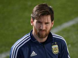 Maradona gave his thoughts on Messi. AFP