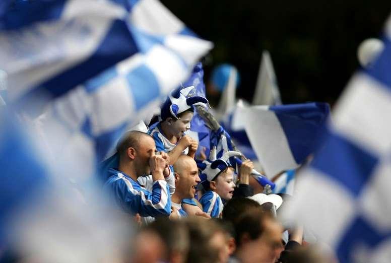 El club 'culpable' de que el Athletic vista de rojiblanco... ¡es inglés! AFP