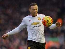 England striker Wayne Rooney has scored 14 goals for Manchester United this season