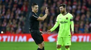 O Barça voltou a empatar com polémica. AFP
