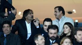 Os donos do PSG poderiam comprar o Leeds United. AFP
