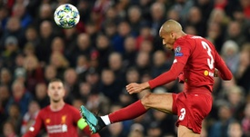 Fabinho, confiado en relación a la Premier League. AFP