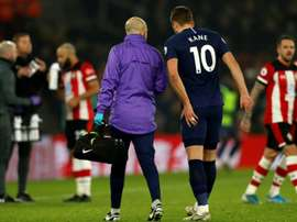 Mourinho fears Harry Kane will be out for a long time. AFP