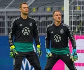'Like Ronaldo and Messi' - Ter Stegen and Neuer square off in Champions League. AFP