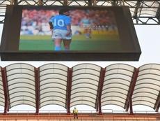 Udinese shocked lazio. AFP