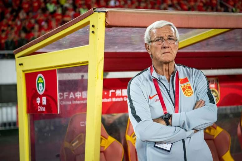 Marcello Lippi is attempting to take China to only their second World Cup. AFP