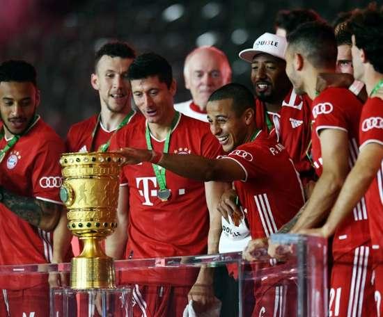 Bayern fighting to keep Alaba, Liverpool-linked Thiago. AFP