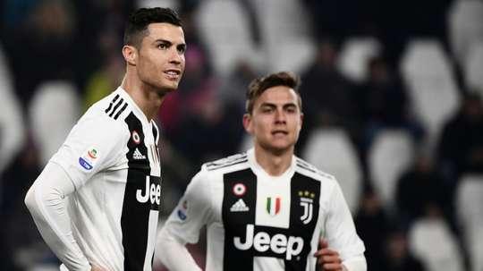 Les compos officielles du match de Ligue des champions entre la Juventus et Ferencvaros. afp