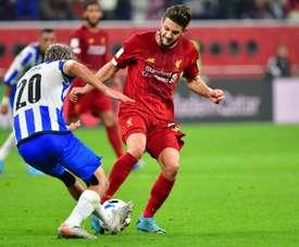 Lallana extends Liverpool deal until end of season. AFP