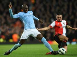 Mangala looks set to join 'the Toffees' on loan. AFP