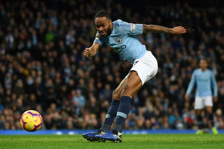 Air Jordan quiere apostar por Raheem Sterling. AFP