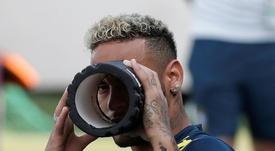 Neymar in vacanza dopo il Mondiale. AFP