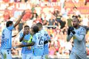 SPAL were victorious at the Stadio Olimpico. AFP