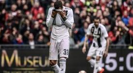 La Juventus a perdu son statut face au Genoa. AFP