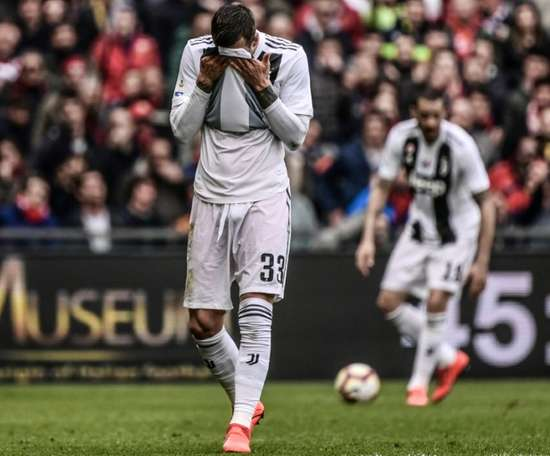Juve slumped to their first defeat of the season. AFP