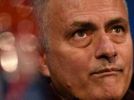 Manchester United manager Jose Mourinho. AFP