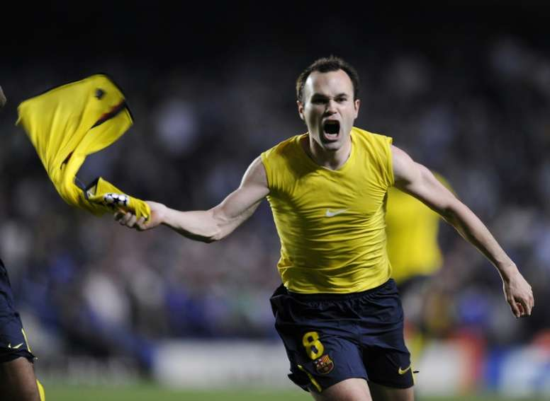 10 years since the goal that changed everything for Barça. AFP