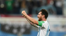 Leo Messi, de vuelta a Argentina. AFP