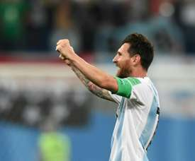 Messi peut être convocable. AFP