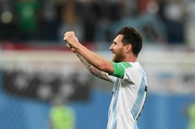 Messi, de vuelta a Argentina. AFP