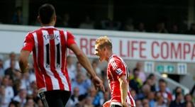 El Southampton jugará la próxima temporada en la Europa League tras una gran Premier. Archivo/AFP