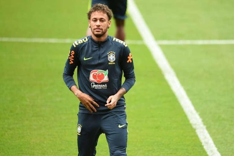 Neymar will cost Madrid a lot of money. AFP