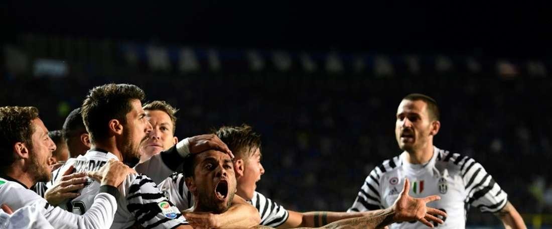 Juventus defender Daniel Alvez da Silva. AFP