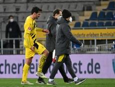 Borussia Dortmund defender Mats Hummels will miss Wednesdays Champions League match. AFP