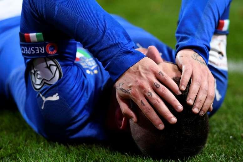 Italia se juega el pase al próximo Mundial de Rusia 2018 ante Suecia. AFP