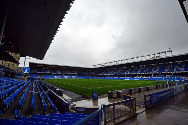 Everton have proposed to leave their Goodison Park home and move to a new stadium. AFP