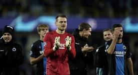 Brugge chegou a ser considerado campeão, mas a Bélgica voltou atrás. AFP