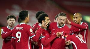 Le formazioni ufficiali di Midtjylland-Liverpool. AFP