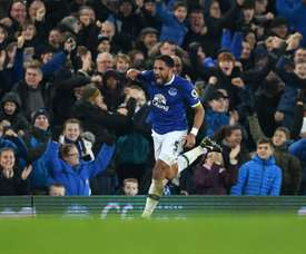 Ashley Williams has been at Everton since 2016. AFP