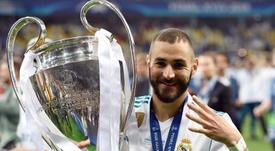 Parece que el Milan no es una opción para Karim Benzema. AFP