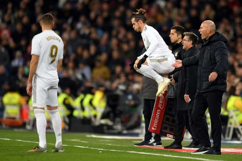 Gareth Bale was backed by his teammates. AFP
