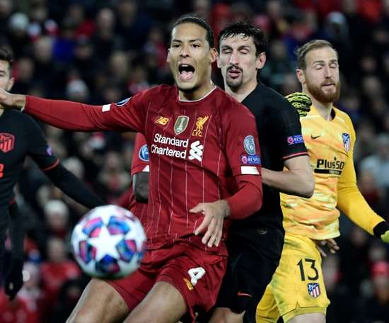 Van Dijk's new stunning deal at Liverpool. AFP