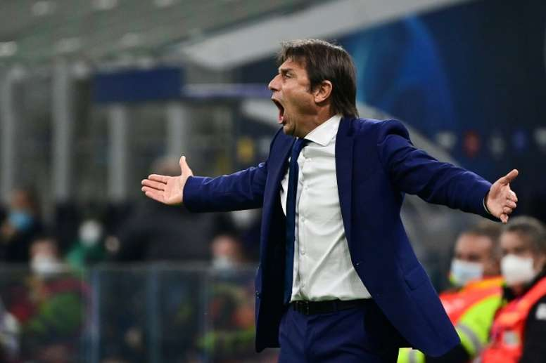 Antonio Conte's Inter Milan could have issues in midfield. AFP