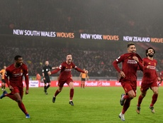 Liverpool strike late again to win at Wolves. AFP
