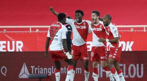 Monaco won their fourth consecutive league game to pile fresh misery onto Marseille. AFP