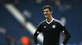 El Madrid estaría a un solo paso de echar el lazo al guardameta belga. AFP
