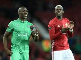 Florentin Pogba a commenté les performances de son frère. AFP