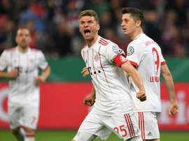 Muller ran the show. AFP