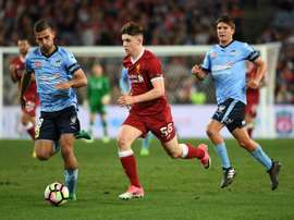 Ben Woodburn is one of Liverpool's most talented players. AFP