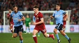 El Liverpool cede a una de sus joyas al Oxford. AFP