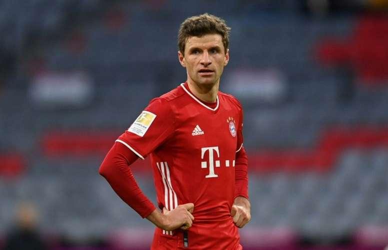 Mueller focuses on Bayern despite calls for Germany recall. AFP
