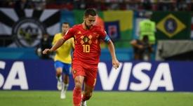 Eden Hazard is a major target for Real Madrid. AFP